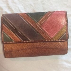 Fossil Wallet Genuine Leather
